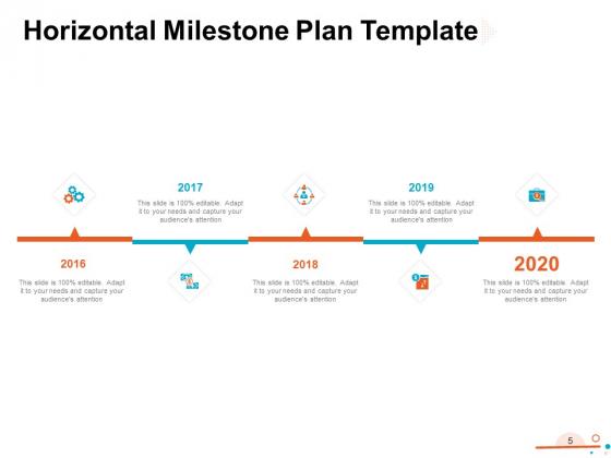 Four_Quarter_Milestone_Plan_Ppt_PowerPoint_Presentation_Complete_Deck_With_Slides_Slide_5