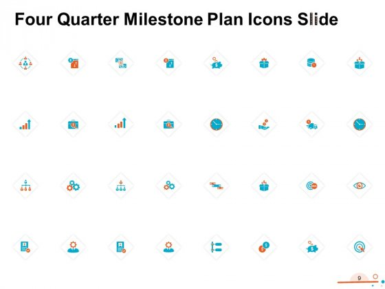 Four_Quarter_Milestone_Plan_Ppt_PowerPoint_Presentation_Complete_Deck_With_Slides_Slide_9