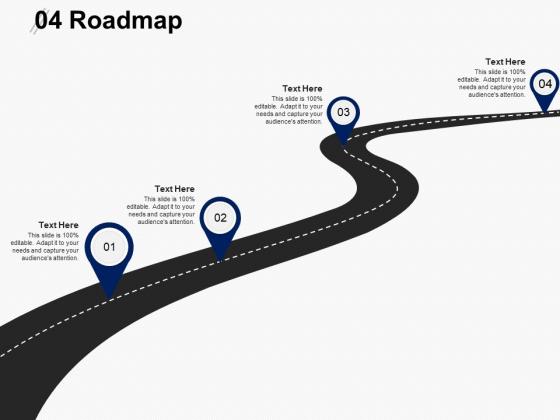 Four Roadmap Ppt PowerPoint Presentation Outline Inspiration
