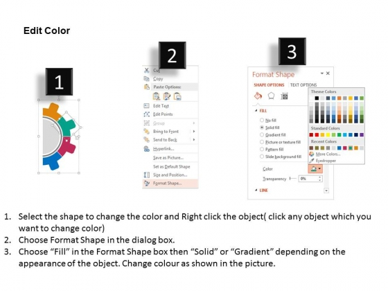 Four_Staged_Gear_Diagram_And_Icons_Powerpoint_Template_3