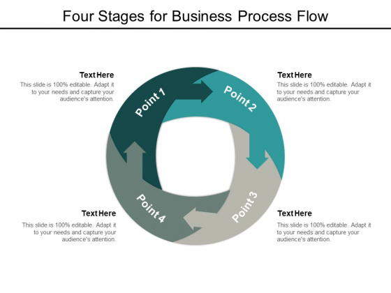 Four Stages For Business Process Flow Ppt PowerPoint Presentation Professional Images