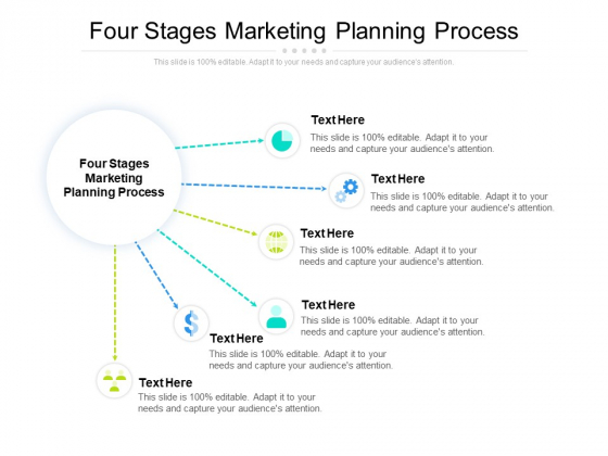 Four Stages Marketing Planning Process Ppt PowerPoint Presentation Inspiration Design Ideas Cpb