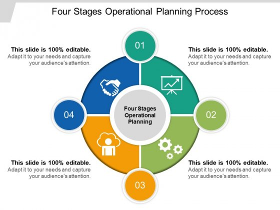 Four Stages Operational Planning Process Ppt PowerPoint Presentation Gallery Design Ideas