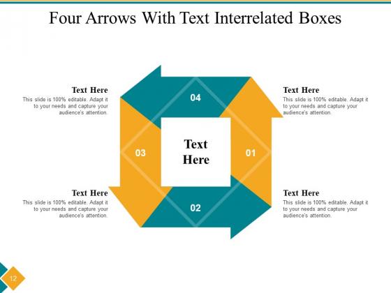 Four_Step_Cycle_Process_Arrows_Squares_Ppt_PowerPoint_Presentation_Complete_Deck_Slide_12
