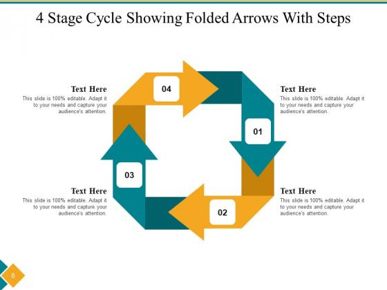 Four_Step_Cycle_Process_Arrows_Squares_Ppt_PowerPoint_Presentation_Complete_Deck_Slide_8