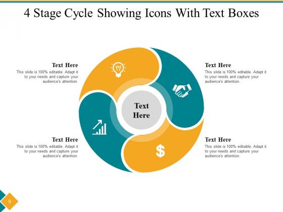 Four_Step_Cycle_Process_Arrows_Squares_Ppt_PowerPoint_Presentation_Complete_Deck_Slide_9
