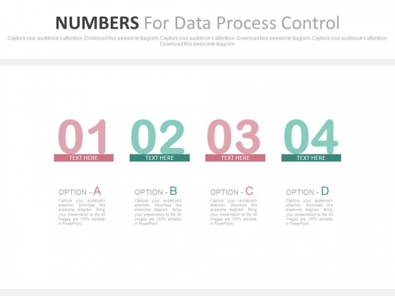Four Steps For Marketing Strategic Planning Powerpoint Template