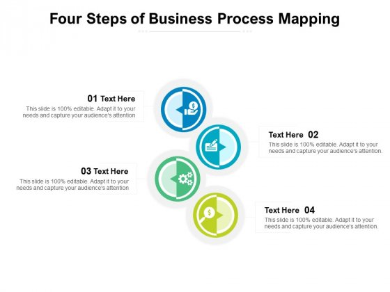 Four Steps Of Business Process Mapping Ppt PowerPoint Presentation File Information