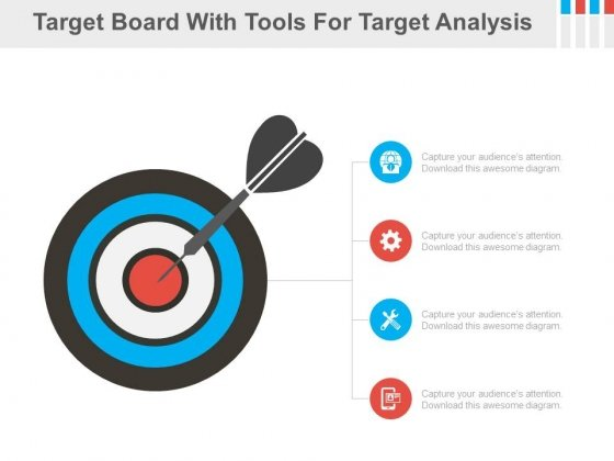 Four Tools For Marketing Target Analysis Powerpoint Slides