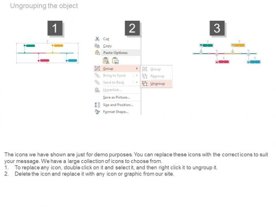 Four_Years_Tags_Timeline_Diagram_Powerpoint_Slides_3
