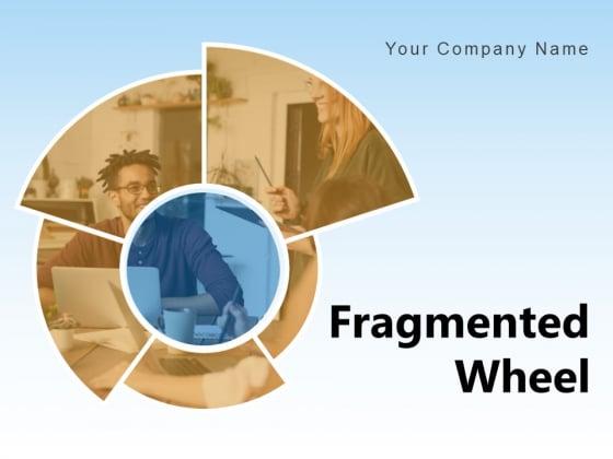 Fragmented Wheel HR Segmented Employee Retention Process Ppt PowerPoint Presentation Complete Deck