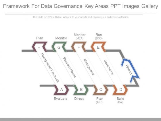 Framework For Data Governance Key Areas Ppt Images Gallery