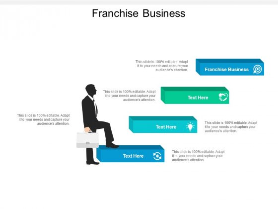 Franchise Business Ppt PowerPoint Presentation Inspiration Brochure Cpb