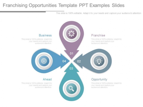 franchising opportunities template ppt examples slides powerpoint
