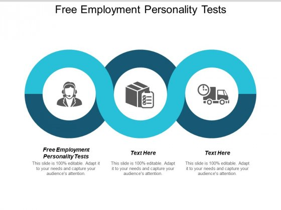 Free Employment Personality Tests Ppt PowerPoint Presentation Infographics Tips Cpb