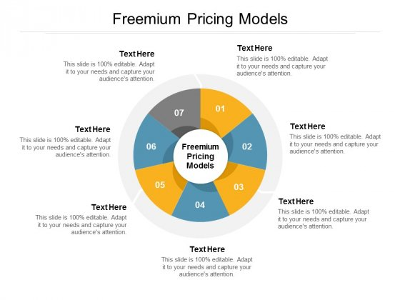 Freemium Pricing Models Ppt PowerPoint Presentation Styles Icons Cpb