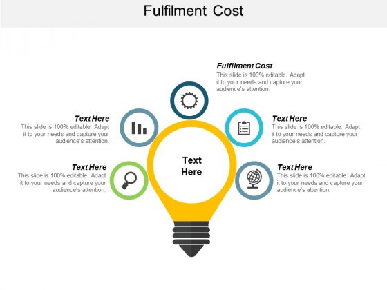 Fulfilment Cost Ppt PowerPoint Presentation File Graphic Images Cpb