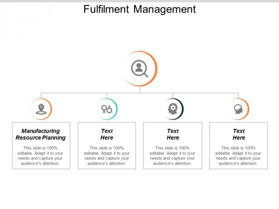 Fulfilment Management Ppt PowerPoint Presentation Layouts Elements Cpb