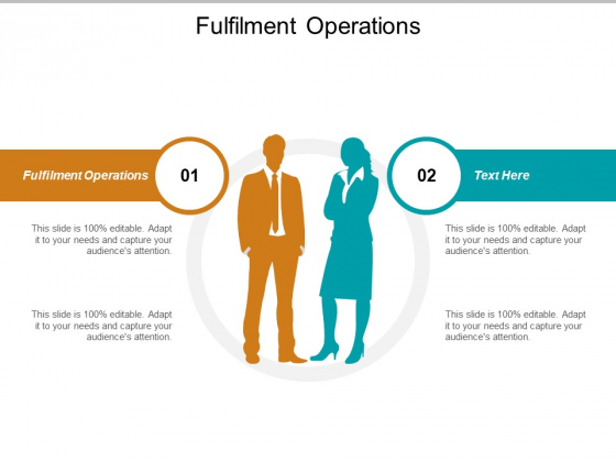 Fulfilment Operations Ppt PowerPoint Presentation Model Graphics Pictures Cpb