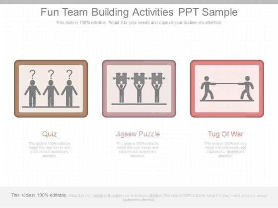 Fun Team Building Activities Ppt Sample