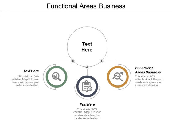 Functional Areas Business Ppt PowerPoint Presentation Model Show Cpb