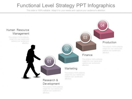 Functional Level Strategy Ppt Infographics