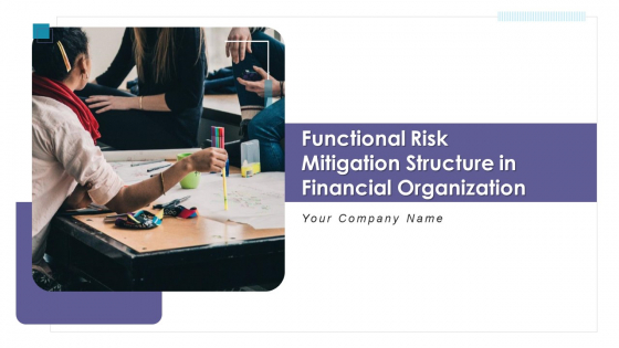 Functional Risk Mitigation Structure In Financial Organization Ppt PowerPoint Presentation Complete Deck With Slides