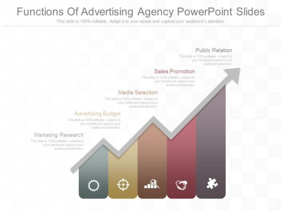 Functions Of Advertising Agency Powerpoint Slides