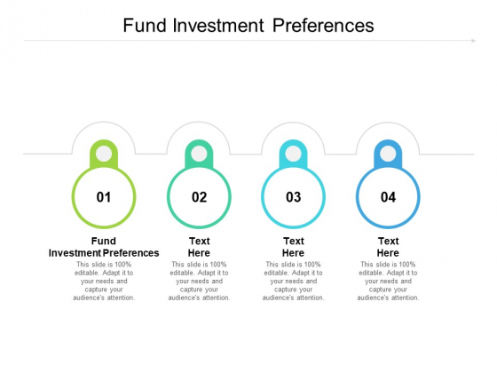 Fund Investment Preferences Ppt PowerPoint Presentation Professional Grid Cpb Pdf