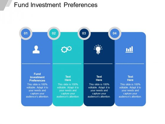 Fund Investment Preferences Ppt PowerPoint Presentation Styles Elements Cpb