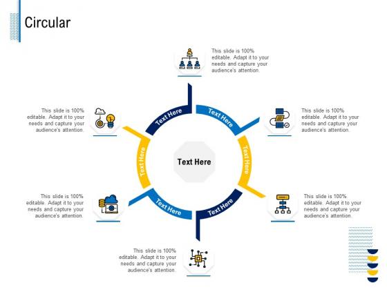 Fundamentals Of Business Organization Circular Ppt Slides Example File PDF