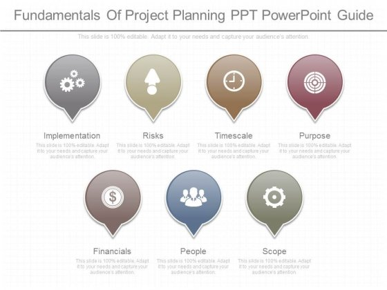 Fundamentals Of Project Planning Ppt Powerpoint Guide