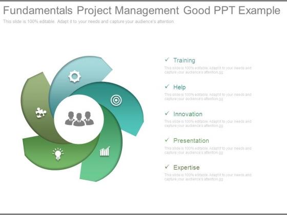 Fundamentals Project Management Good Ppt Example