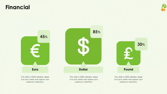 Funding Pitch Deck Financial Ppt Infographics Icon PDF