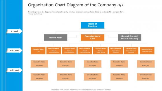 Funding Pitch To Raise Funds From PE Organization Chart Diagram Of The Company Board Graphics PDF