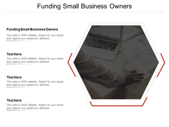 Funding Small Business Owners Ppt PowerPoint Presentation Professional Graphics Pictures Cpb Pdf