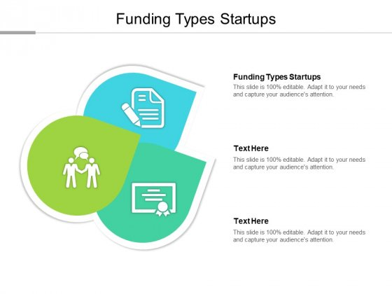 Funding Types Startups Ppt PowerPoint Presentation Professional Themes Cpb