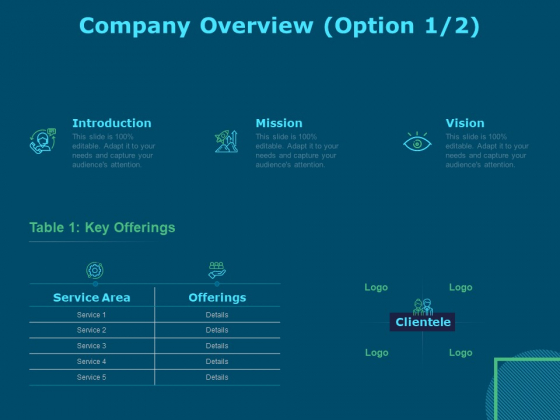 Funds For Startups Company Overview Ppt Icon Graphics Pictures PDF