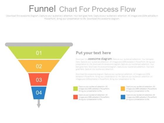 Funnel Chart For Joint Venture Marketing Powerpoint Slides