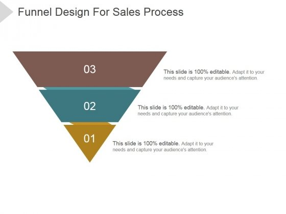 Funnel Design For Sales Process Ppt PowerPoint Presentation Ideas