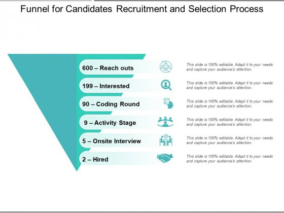 Funnel_For_Candidates_Recruitment_And_Selection_Process_Ppt_PowerPoint_Presentation_Layouts_Picture_PDF_Slide_1