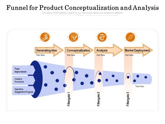 Funnel_For_Product_Conceptualization_And_Analysis_Ppt_PowerPoint_Presentation_Shapes_PDF_Slide_1