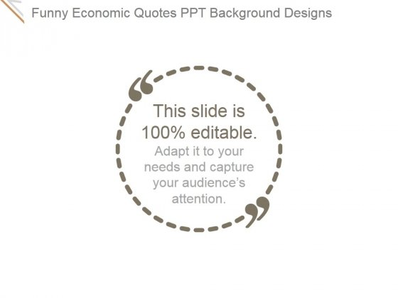 funny economic quotes ppt powerpoint presentation show powerpoint