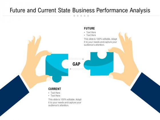 Future And Current State Business Performance Analysis Ppt PowerPoint Presentation Styles Icons PDF