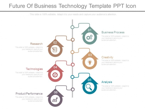 Future Of Business Technology Template Ppt Icon
