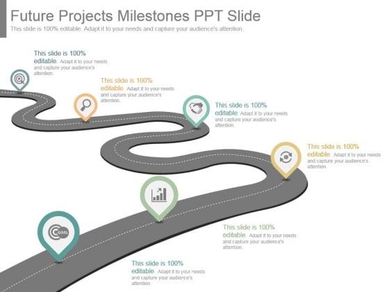 Future Projects Milestones Ppt Slide