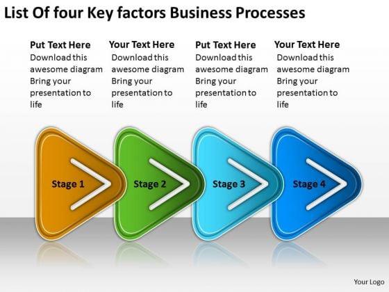 Factors Business PowerPoint Theme Processes Technical Support Flow Chart Slides