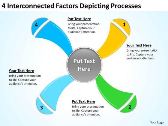 Factors Depicting Processes Ppt Sample Business Plan PowerPoint Slides