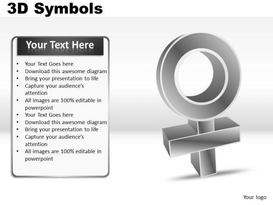 Female Symbols PowerPoint Slides And Ppt Diagrams Templates