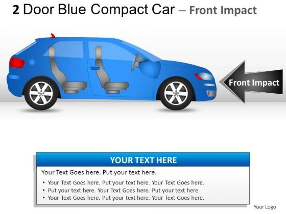 Finance 2 Door Blue Car Side PowerPoint Slides And Ppt Diagram Templates